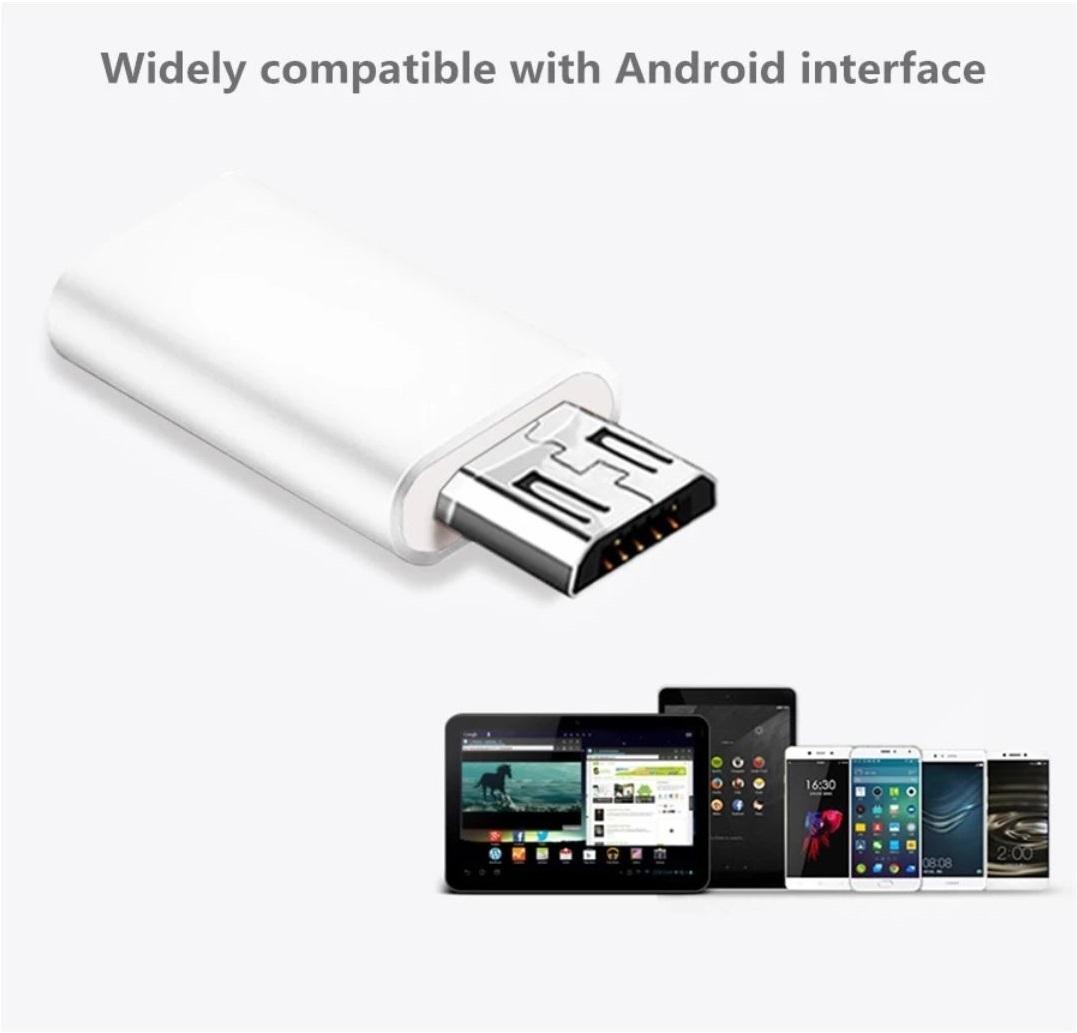 Адаптер USB Type-C to Micro USB