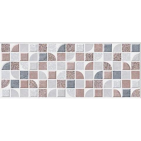 Плитка декор Azori Macbeth mocca 201x505