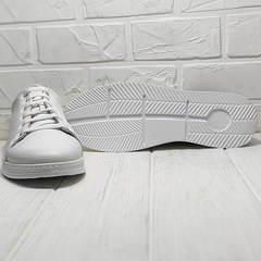 Белые кроссовки женские на толстой подошве Evromoda 141-1511 White Leather.