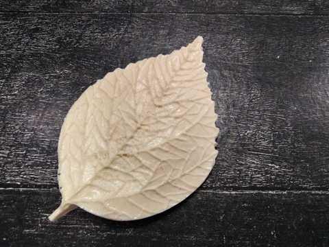 Молд г96, лист гибискуса размер 9*6см