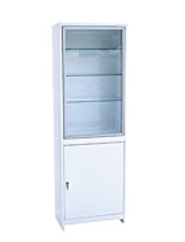 Медицинский шкаф (ШМС-1-А) ШМС-1 в алюминиевой раме - фото