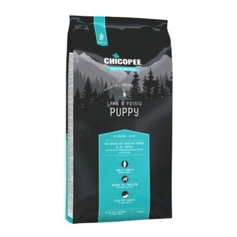 Chicopee HNL Puppy Lamb & Potato корм для щенков с ягненком и картофелем, 12 кг.