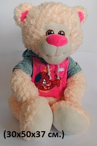 9STM-006 Медведь в кофте с капюшоном