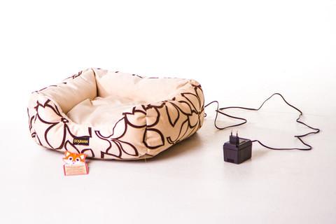 Лежанка для кошек «Кошкин дом» с электрообогревом Бест