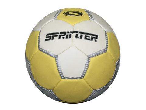 Мяч для гандбола Sprinter №2. Выполнен из синтетической кожи на основе полиуретана. Допускает использование мастики. Уровень игры: тренировочный.