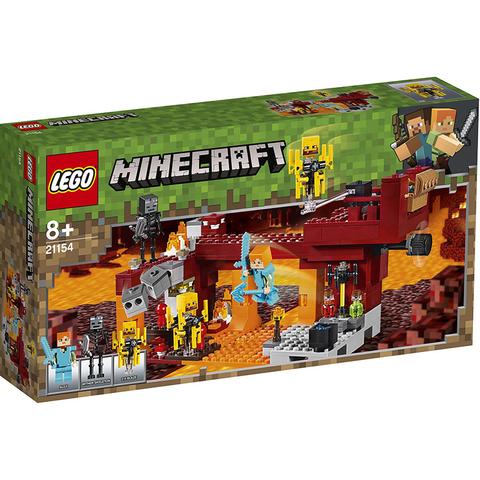 Lego konstruktor Minecraft The Blaze Bridge