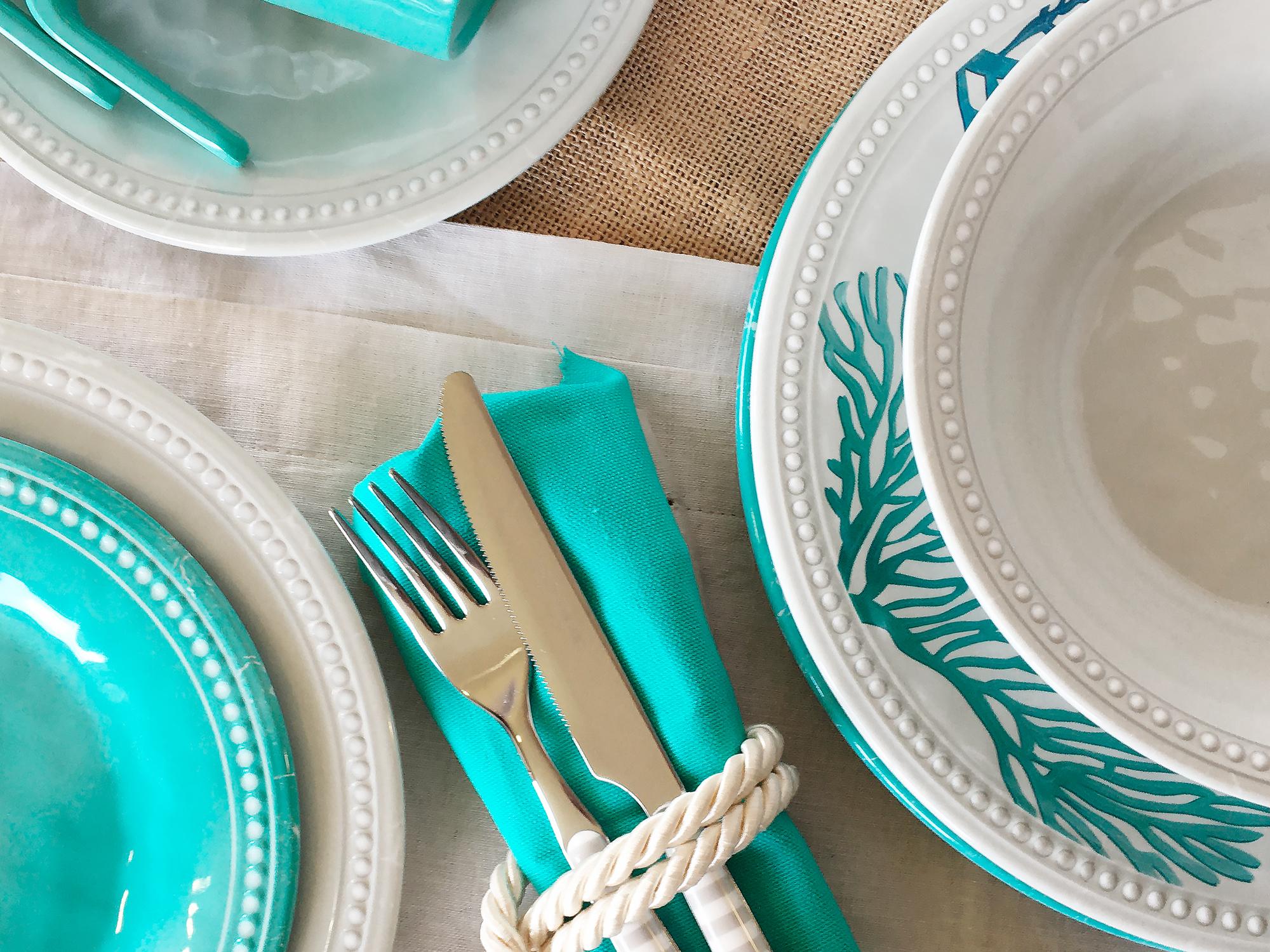 Melamine Soup Plate, Harmony Pearl, 6 Pcs