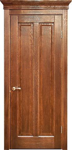 Дверь Лидер-Альверо Мария (черный орех, глухая, массив дуба)