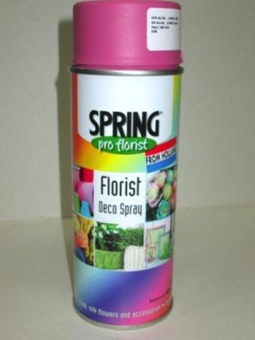 Краска-спрей SPRING (объем:400мл) Цвет: 008, розовый