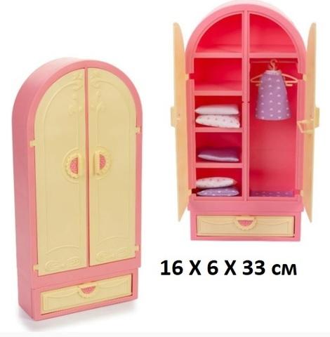 Мебель Гардероб Маленькая принцесса С-1503