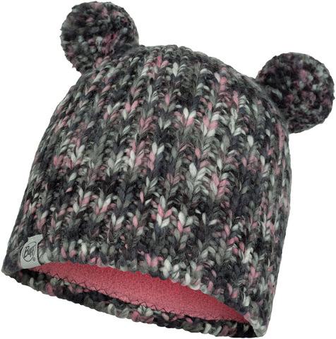 Шапка вязаная с флисом детская Buff Hat Knitted Polar Lera Castlerock Grey фото 1