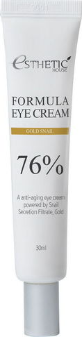 Крем для глаз ЗОЛОТО/УЛИТКА Formula Eye Cream Gold Snail, 30 мл, ESTHETIC HOUSE