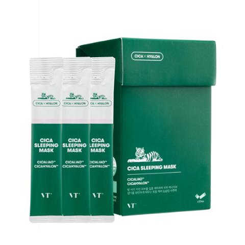 VT Cosmetics Cica Sleeping Mask  Ночная маска для чувствительной и проблемной кожи с центеллой 4 мл