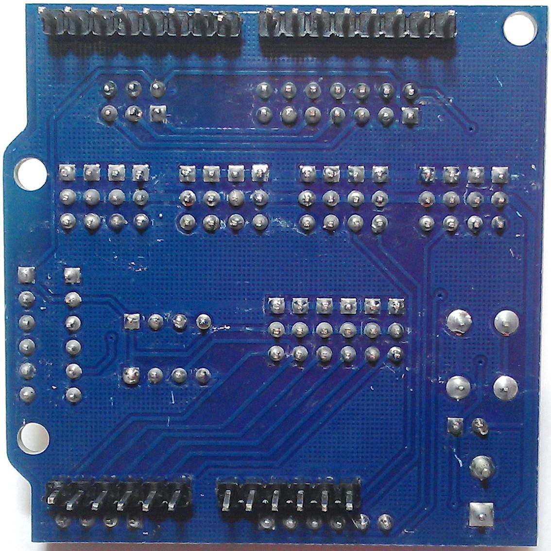 Плата расширения Sensor Shield V5.0 для Arduino