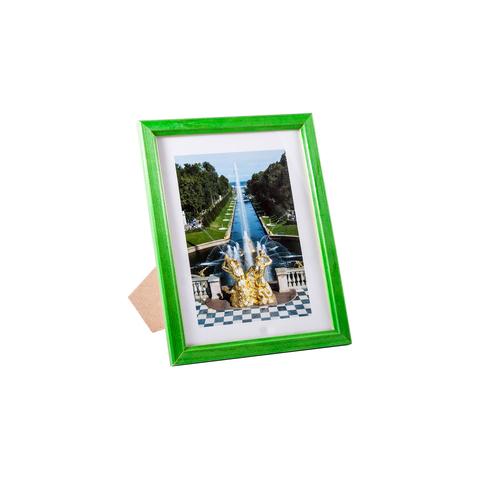 Фоторамка сосна  цветная 15х20 7N68 зелёная