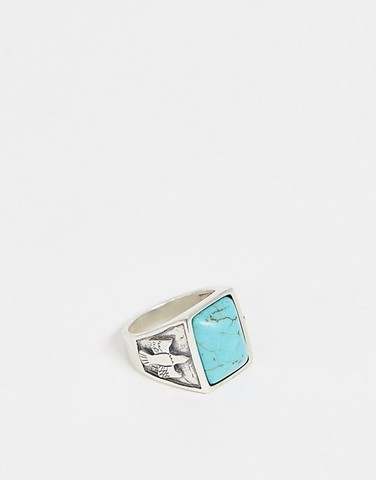 Серебряное кольцо с камнем Serge DeNimes Dove