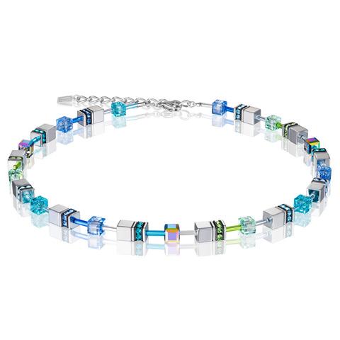 Колье Coeur de Lion 4015/10-0705 цвет голубой, зелёный