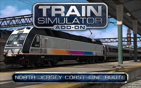 Train Simulator: North Jersey Coast Line Route Add-On (для ПК, цифровой ключ)