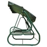 Садовые качели Титан зеленые
