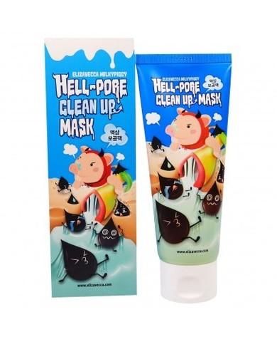 Elizavecca Milky Piggy Hell-Pore Clean Up Mask угольная маска-пленка для очищения пор