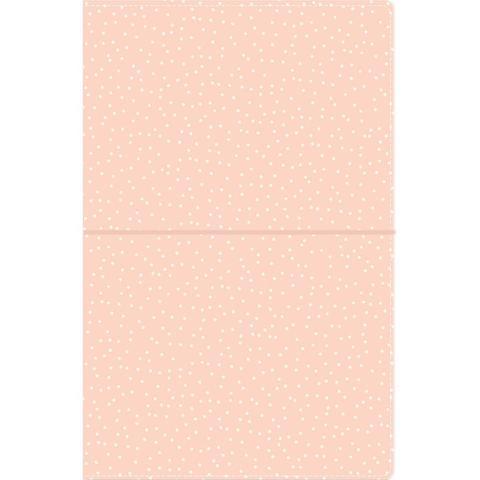 Блокнот (14,5х22 см)- Carpe Diem Traveler's Notebook- Blush Speckle