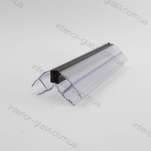 Уплотнитель магнитный 90 град. HDL-210 для душевых кабин