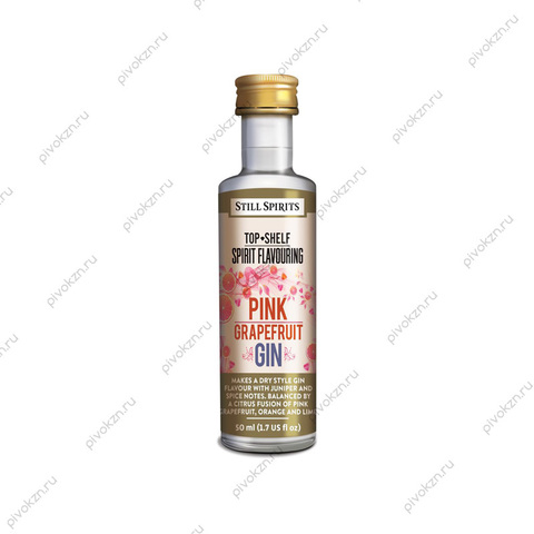 """Эссенция Still Spirits """"Pink Grapefruit Gin Spirit"""" (Top Shelf), на 2,25 л"""