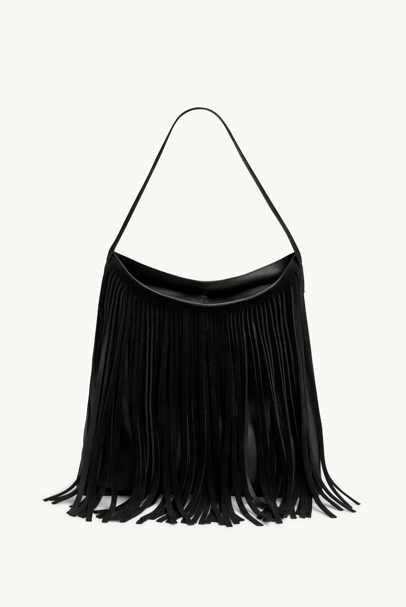 LADY HAIR - Сумка-шоппер с бахромой