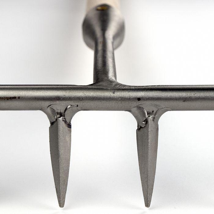 Грабли садовые из нержавеющей стали Sneeboer, широкие 14 зуб.