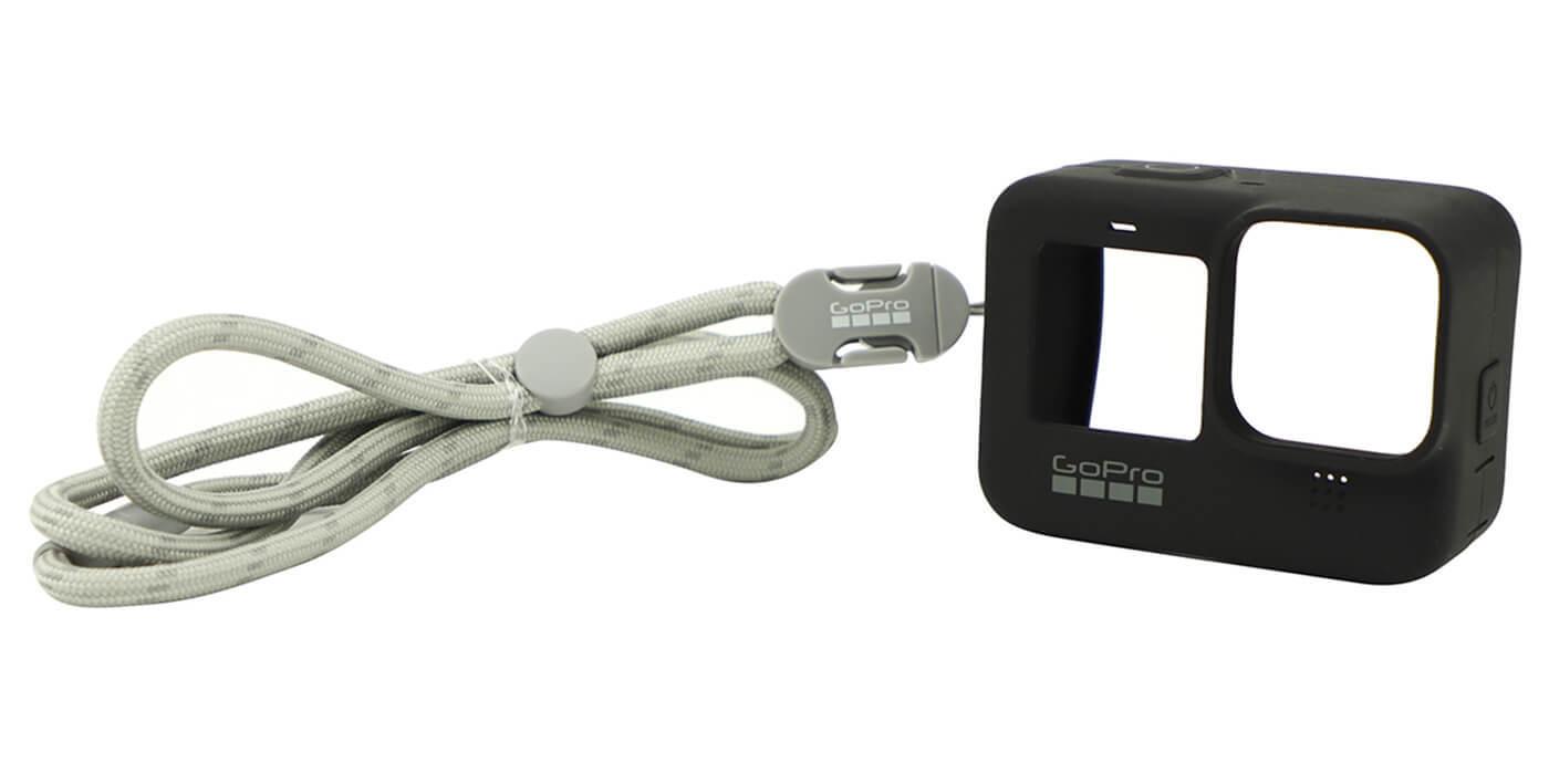 Силиконовый чехол с ремешком для GoPro HERO9 Sleeve + Lanyard