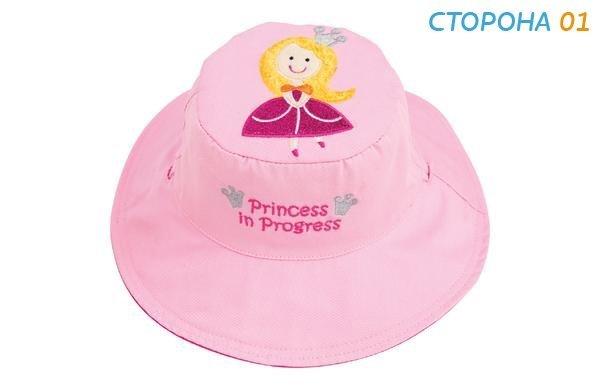 Панама Flapjackkids Принцесса/Горошек (Princess/Sweet Pea LUV0123S) S (0,5-2). Арт. 48300