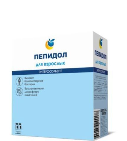 Пепидол ПЭГ 5проц р-р 2х100мл для взрослых