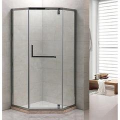 Душевое ограждение Grossman PR-90SD серебро, 90х90, с раздвижными дверьми,угловое