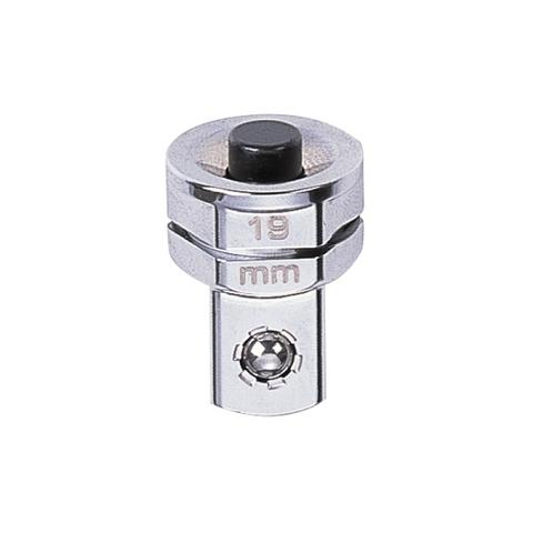 KING TONY (373204R) Переходник для трещоточных ключей на 19 мм для головок 1/2