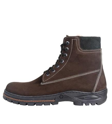 Ботинки зимние Тайга (Нубук/Натуральный мех)