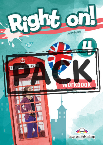 Right On! 4 Workbook (with Digibooks App). Рабочая тетрадь с электронным приложением.