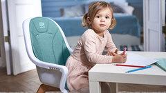 Стульчик для кормления Kinderkraft Tixi Grey