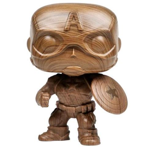 Фигурка Funko POP! Bobble: Marvel: Marvel: Captain America (WD) (Exc) 45048