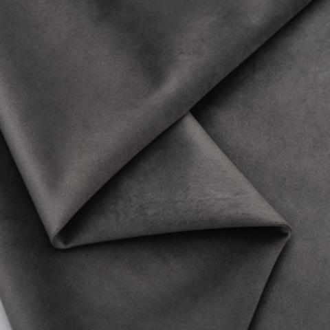 Бархат матовый стрейч, ворс 0,5 мм., темно-серый 39 (выбрать  размер)