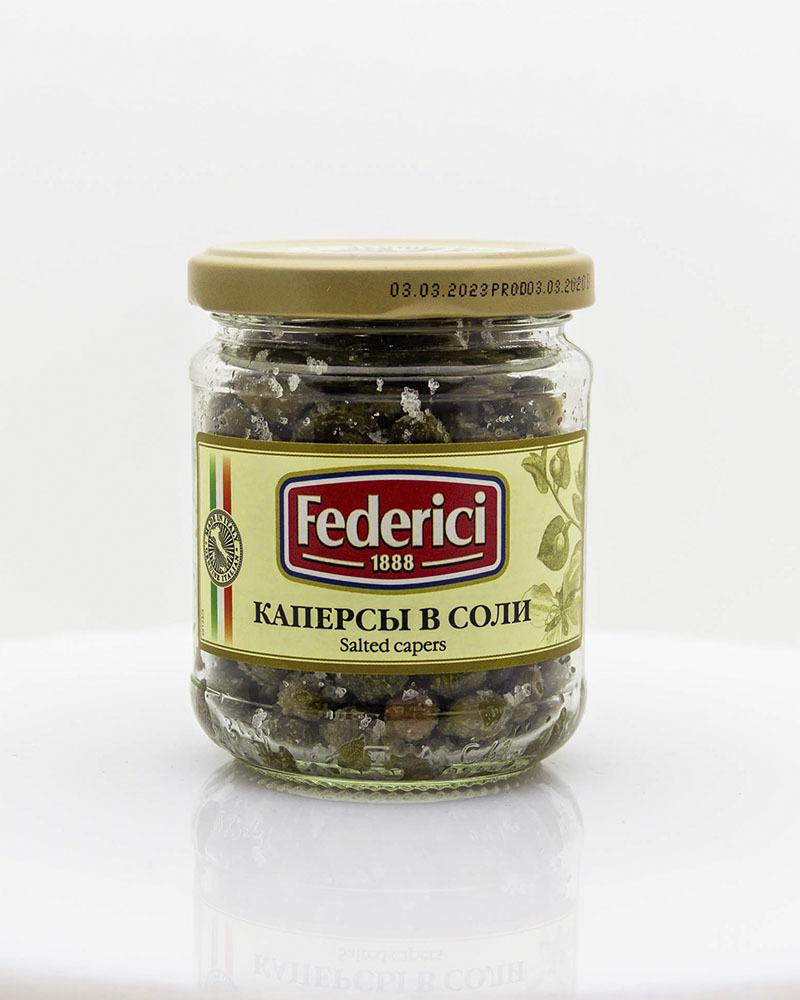Каперсы в соли Federici 140 гр.
