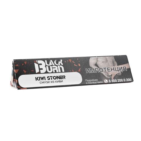 Табак Burn Black KiwiStoner (Киви Смузи) 25 г