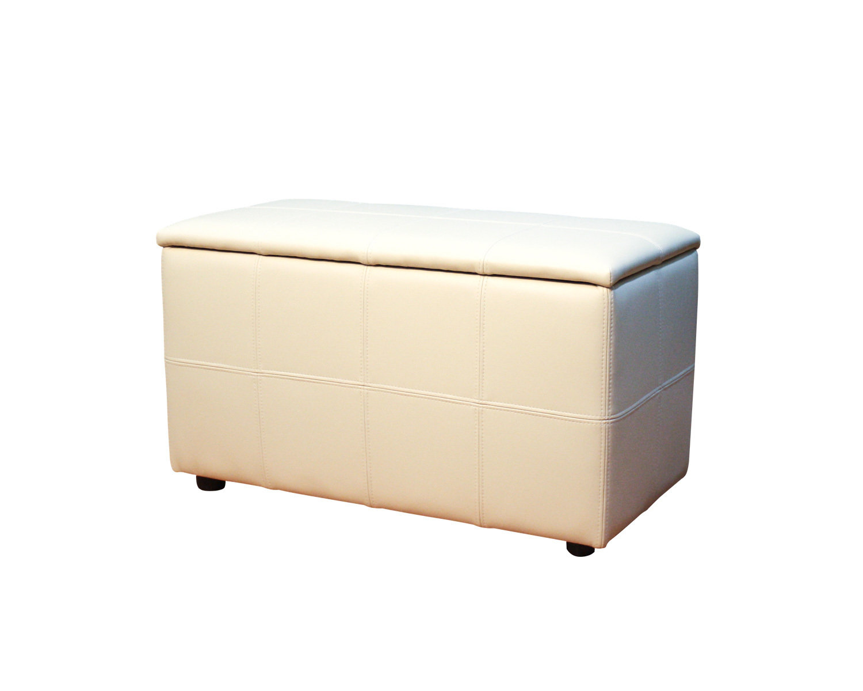 Пуф Квадрат-Х2 с ящиком