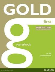 Gold First New Edition Coursebook with online audio