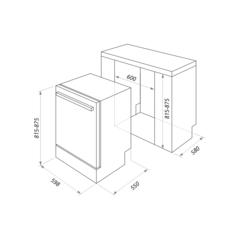 Посудомоечная машина Maunfeld MLP-12S схема
