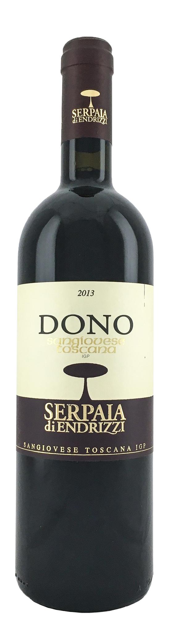 Вино Доно Санжовезе Тоскано сухое красное з.г.у.регион Тоскана Италия кат.IGP 0,75л.