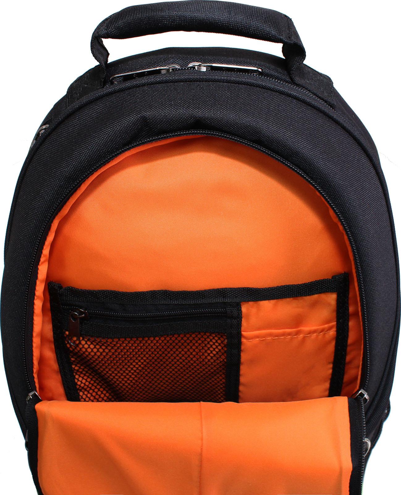Рюкзак для ноутбука Bagland Рюкзак ZOOTY 24 л. Чёрный (00531662) фото 4
