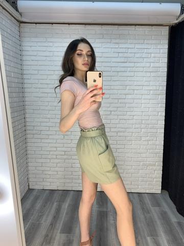 женские шорты зеленые купить