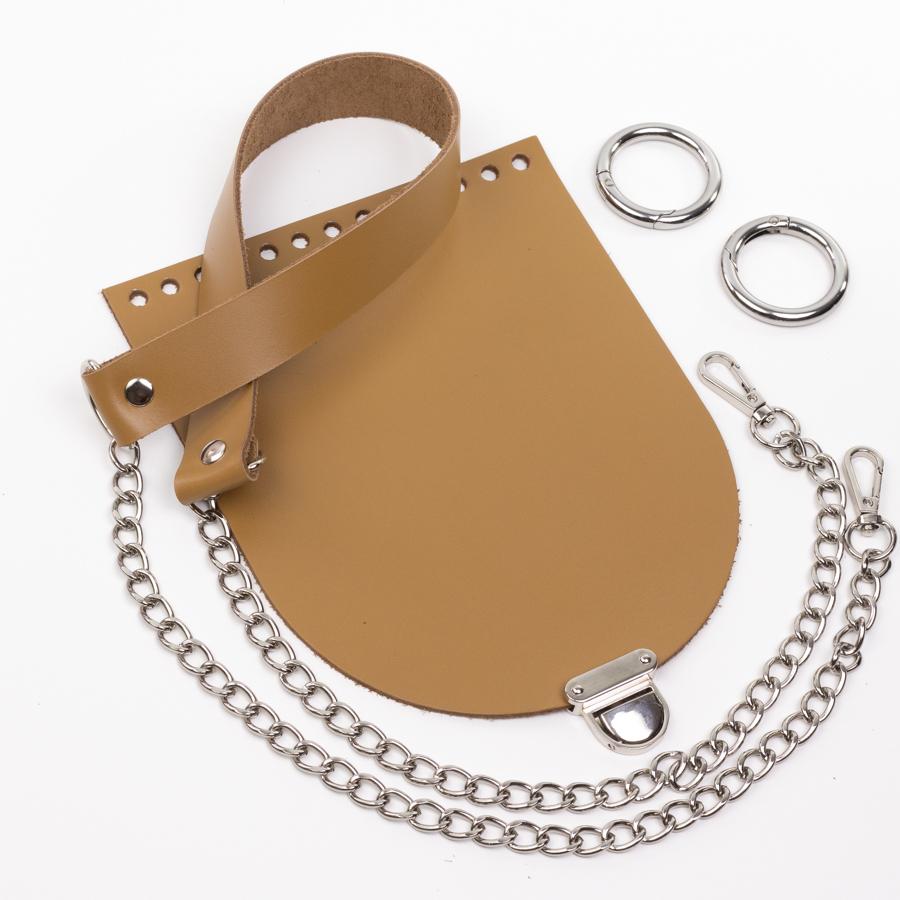 """Каталог Комплект для сумочки Орео """"Мёд"""". Ручка с цепочкой и замок """"Маленький литой"""" IMG_0854.jpg"""