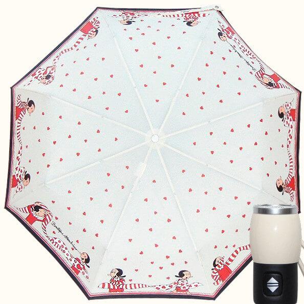 Зонт складной Moschino Boutique 7961-I Olivia Scarves