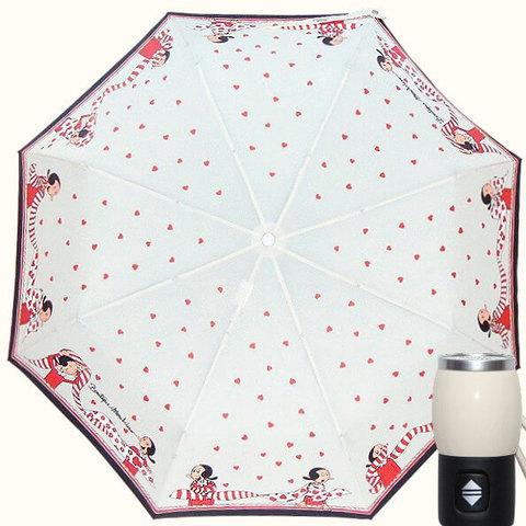 белый зонтик оливия moschino